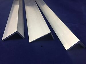 Aluminium Angle Section Extruded Angle Various Sizes 2000 mm Lenght