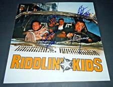 RIDDLIN KIDS~Hurry Up and Wait~12x12~Signed~Original Promo Poster~2002~Proof~RK
