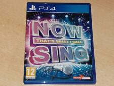 Now That's What I Call Sing PS4 Playstation 4 (Game Only) **FREE UK POSTAGE**