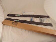 General Devices C-300-S-126 Telescoping Slide Rails 80lbs NIB w/Mounting Kit E1