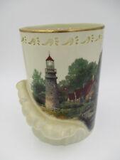 Lenox Thomas Kinkade Light of Peace Lighthouse Large Votive Candleholder Vase
