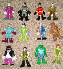 Huge LOT Of Imaginext DC Batman Super Hero & Villian Figures + Accessories 40+