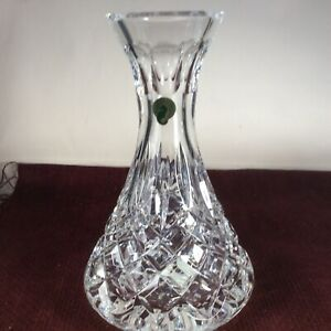 Vintage WATERFORD Lismore Crystal Open Wine Carafe / Decanter IRELAND W/ BOX
