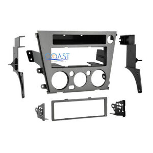 Car Radio Stereo Single DIN Trim Dash Kit for 2005-2009 Subaru Legacy Outback