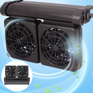 Aquarium Water Tropical Marine Fish 12V Cooling Fan Tank Adjustable Wind Chiller