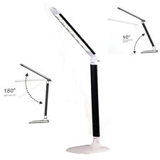 LAMPADA DA TAVOLO SCRIVANIA 20 LED USB TOUCH CALDA FREDDA NATURALE 180° INTERNO