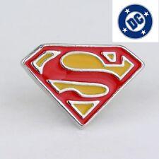 Classic  SUPERMAN LOGO pin Cap lapel Clark Kent - Cosplay collectible US seller