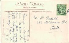 Mr P Russell. 684 Holderness Road, Hull 1913 - 'E A '    QR835