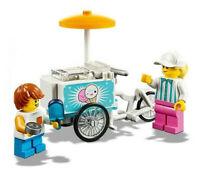 Lego ® City Minifig Figurine Triporteur à Glaces Fête Forraine + Forain NEW