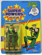 GREEN ARROW Action Figure 1985 Super Powers UNPUNCHED 23 Back Series 2 Kenner