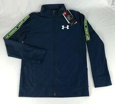 Under Armour Boys Prototype Full Zip Lightweight Jacket Youth Medium Academy New