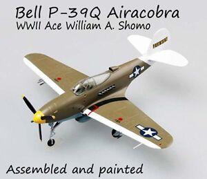Bell P-39Q Airacobra William A. Shomo 1/72 aircraft no diecast plane Easy model