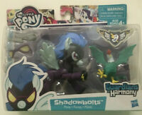 My Little Pony Guardians of Harmony Shadowbolts & Cockatrice Figure MLP Toy Doll