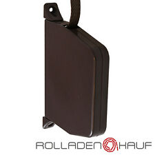 Rollladen Aufschraubwickler Aufputz Rolladen Rollo Gurtwickler Mini 5m braun NEU