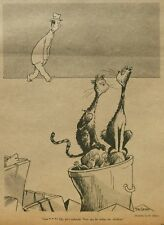 DR. SEUSS DRAWING & ARTICLE - LAUGHING ISN'T ANY FUN NY Times November 16 1952