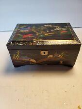 VINTAGE ORIENTAL MUSIC JEWELRY BOX