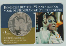 Niederlande / Holland 10 Euro 2005 Coincard Koningin Beatrix 25 Jaar symbool