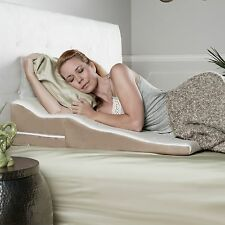 Avana Contoured Bed Wedge Pillow with Gel-Infused Cooling Memory Foam and Bamboo