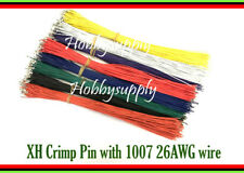 160 pcs JST-XH 2.5mm Pin w/. 26AWG 1007 length 300mm end solder wire 8 of Color