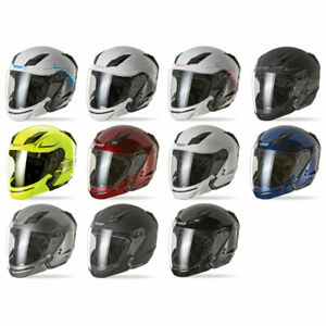 2018 Fly Racing Tourist DOT Open Face Touring Motorcycle Helmet - Size & Color