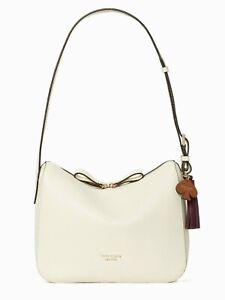 NWT Kate Spade Anyday Medium Shoulder bag Pebble Leather Parchment