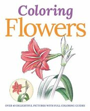 Colouring Flowers (Colouring Books),Peter Gray