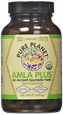 Pure Planet AMLA PLUS Vitamin C 500mg - 200 tablets AYURVEDIC ANTI-OXIDANT