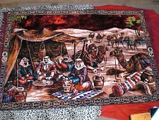 WALL TAPESTRY EARLY  1970s  -  68 X 46 -  WOW - RARE
