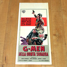 G MEN DELLA QUINTA STRADA locandina poster Yale Wexler Fight Lotta Gun E93