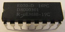 E050-D 16PC µEM Real Time Clock IC  im DIP16 Gehäuse   (A12/7539)