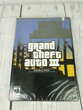 Grand Theft Auto 3 GTA III Double Pack Sony Playstation 2 PS2 New Sealed