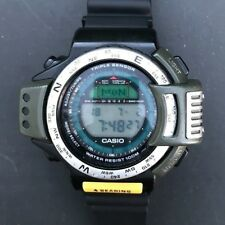 Vintage & Rare Casio ATC-1200 (1170) Japan M Triple Sensor Pathfinder FREE SHIP