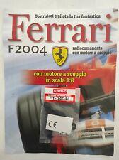 Ferrari Formula 1 F2004 De Agostini Kyosho a Scoppio Ricambio N°44 04044 Nuovo
