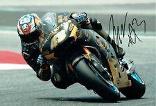 Jack MILLER 2017 Signed 12x8 Photo 4 AFTAL Autograph COA Marc VDS Honda MOTOGP