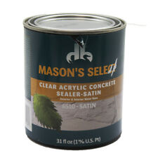 Mason's Select - Clear Acrylic Concrete Sealer 6510 Satin 31 Oz