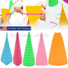 5Pcs Paper Quilling Border Buddy Bobbin Tower Quilled Creation Papercraft Diy