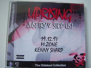 UPRISING -19.12.97 M-ZONE & KENNY SHARP - OLD SKOOL CD
