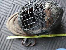 Antique Vintage Wire Mesh Fencing Mask
