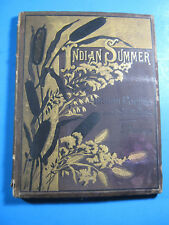 1881 INDIAN SUMMER L. CLARKSON POEMS SKETCHES BOOK