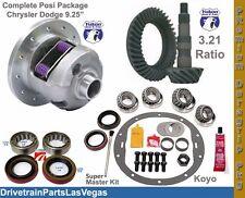 Dodge Chrysler 9.25 Posi Package Yukon Duragrip Ring and Pinion Ultra Kit All Yr