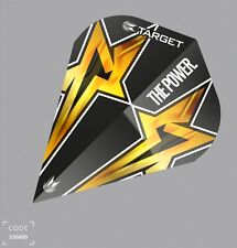 PHIL TAYLOR TARGET POWER STAR BLACK AIR G3 FLIGHTS  MINI KITE 330800