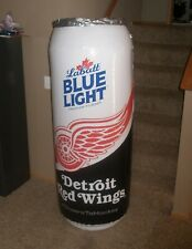 DETROIT RED WINGS Giant Inflatable 5 Foot Labatt Blue Light Can — Brand New