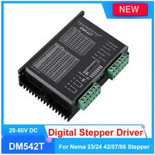 DM542T Stepper Motor Driver Digital Fr Nema 23/24 42/57/86 DIR TTL CNC Microstep