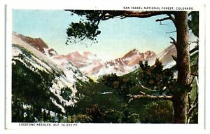 Crestone Needles, San Isabel National Forest, CO Postcard *6V(2)18