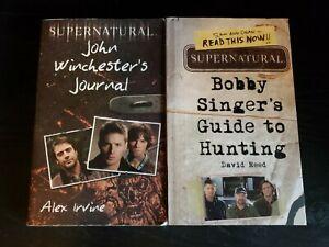 Supernatural: John Winchester's Journal & Bobby Singer's Guide to Hunting books