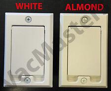 Hayden central vacuum square door inlet valve! 1 ALMOND valve (qty 1)