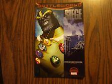 Marvel Comic TPB Graphic Novel Secret Wars-Battleworld: SIEGE