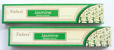 2 x 15g Boxes Jasmine Tulasi Premium Masala Incense Natural Insence Sticks Packs