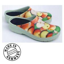 Gr. 41 Damen Gartenschuh Picture-Clogs Apple Jolly By Alsa Clogs NEU OVP