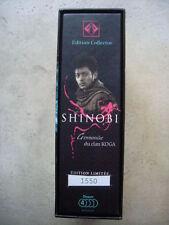 coffret collector numéroté SHINOBI ( le film) 3 dvd + cd musique + livre TBE